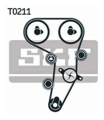kit distribución skf audi a4 sedan 2.0 tdi 08-16