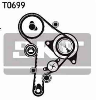 kit distribución skf audi q5 2.0 tdi quattro 09-