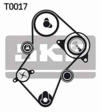 kit distribución skf peugeot partner patagonica 1.9d 98-03