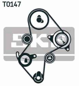 kit distribución skf renault 19 bicuerpo 1.9 diesel | 94-98