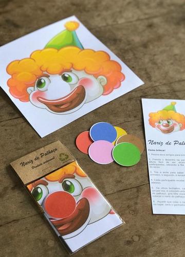 kit diversão com 10 brincadeiras de papel