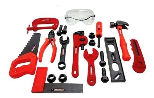 kit do engenheiro infantil jogo de ferramentas para crianças