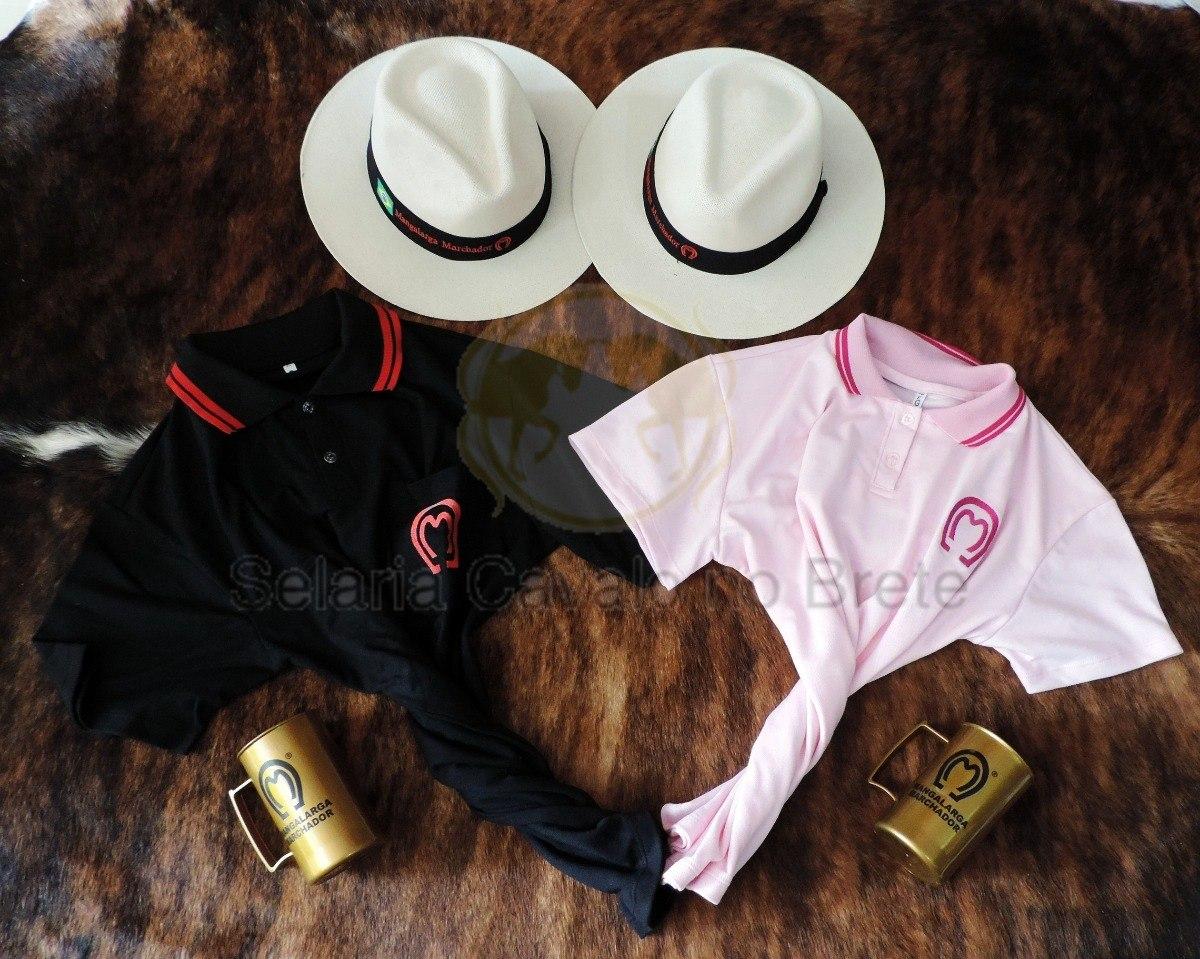 kit do mangalarga para casal 2 camisas + 2 chapéus e canecas. Carregando  zoom. 3306bd123ca