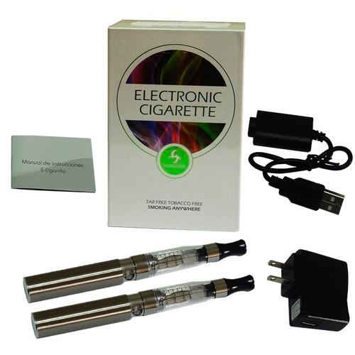 kit doble de cigarro electrónico - marca hangsen - plata