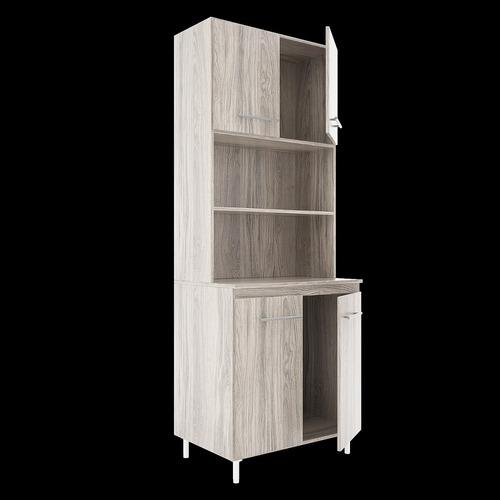 kit doble de cocina orlandi 4 puertas 0,70 x 1,86 x 0,47 m