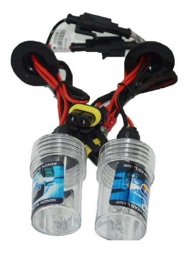 kit doble de luces xenón h4 - h7 6000k + 8000k balastros