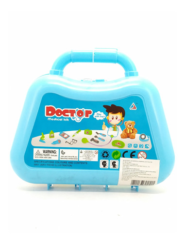 kit doctor médico maletín juguete niños didáctico
