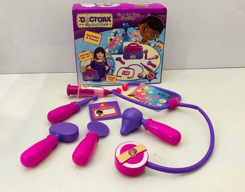 kit doctora juguetes maletín
