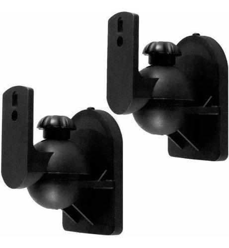 kit dois pares de suporte de caixas para som ambiente csr