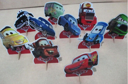kit dora aventureira e carros,20 display de 15 cm, de mesa