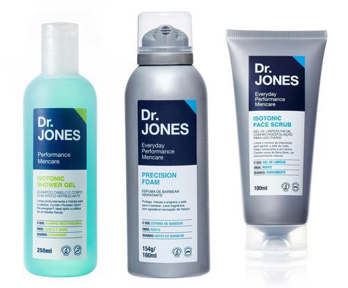 kit dr. jones para barbear
