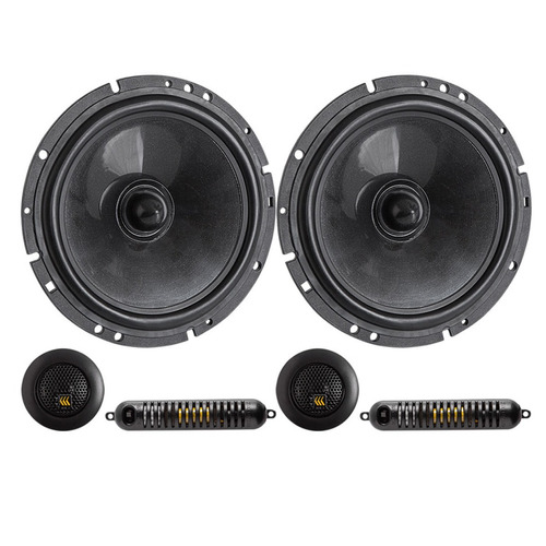 kit duas vias 6' bravox 190w rms cs60bk crossover e tweeter
