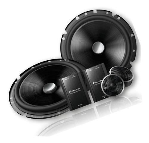 kit duas vias 6' pioneer + alto falante pioneer 5'