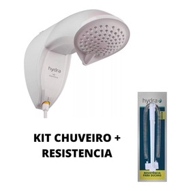 Kit Ducha Eletrônica Chuveiro Hydra Nd Econômico+resistencia