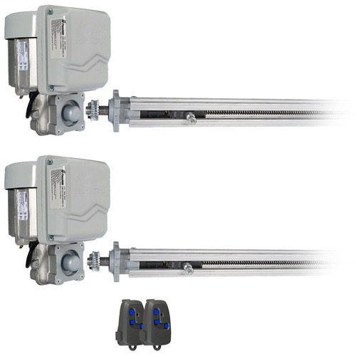kit duplo motor portão pivotante até 1,5 cada folha peccinin