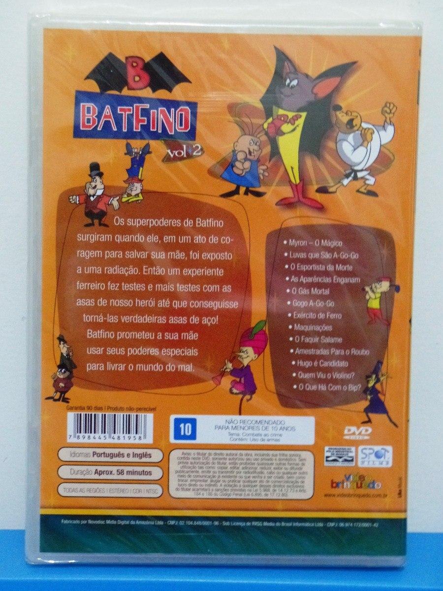 Kit Dvd Antigo Desenho Batfino Volume 1 2 E 3 Lacrado R 120 00