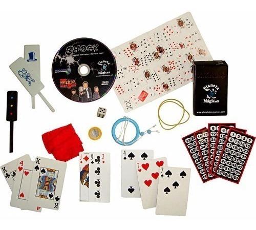 kit dvd com 20 truques de mágica shock oriental magic show