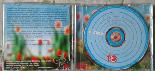 kit dvd e cd  eliana é dez frete gratis