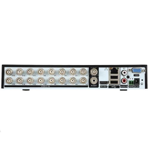 kit dvr 16 canales 8 camaras 1500tvl seguridad disco duro