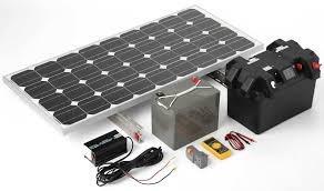 kit dvr + 4 camaras infrarrojas hd 720p a energia solar