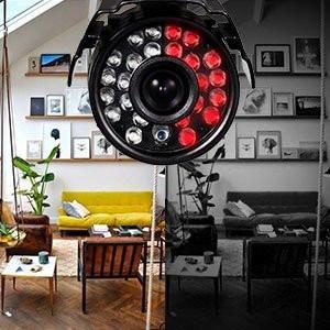 kit dvr 4 canales 4 camaras bala y domo 1280 tvl disco
