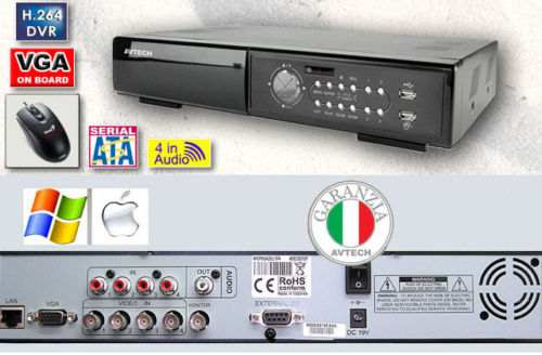 kit dvr 4 ch 1tb ip 3g vga video vigilancia seguridad casa $