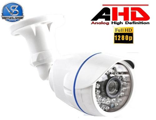 kit dvr ahd 4 canais full hd h264 hdmi + 4 câmeras ahd 1280p