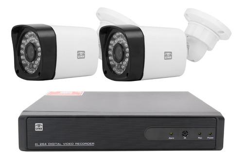 kit dvr lynx con 2 cámaras hd 1080p