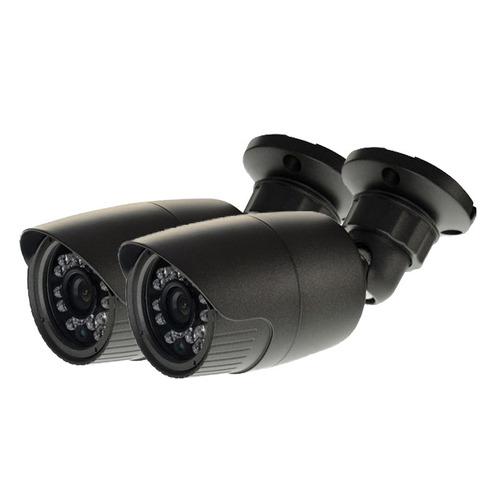kit dvr seguridad 4 camaras infrarrojas led video hd 720p