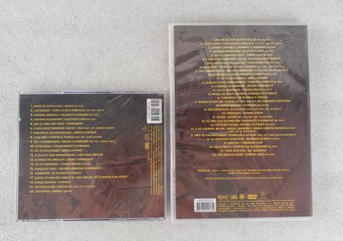 kit é festa! [dvd+cd] naldo teló jorge luan bruno marrone