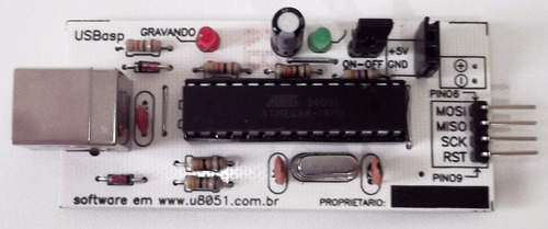kit e gravador microcontrolador atmel at89s52