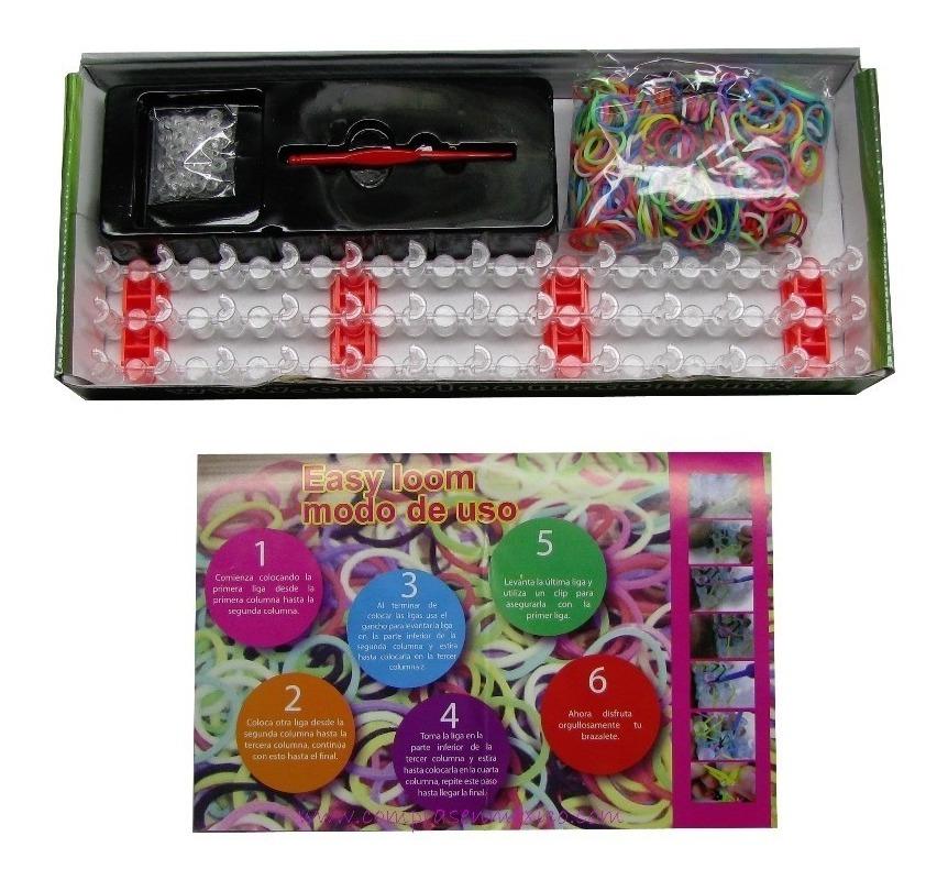 fe224d0262d5 Kit Easy Loom Para Hacer Pulseras, Collares Y Accesorios