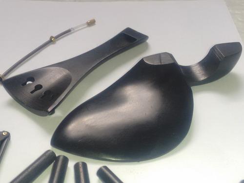 kit ébano preto violino completo ( leia a discrição )