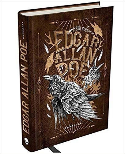 kit edgar allan poe medo clássico com 2 volumes frete grátis