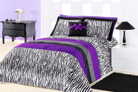 7b0e542714 Edredom De Casal Estampa Zebra - Roupa de Cama no Mercado Livre Brasil