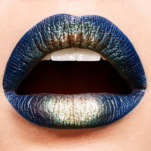 kit efecto metálico lip python edición limitada maybelline