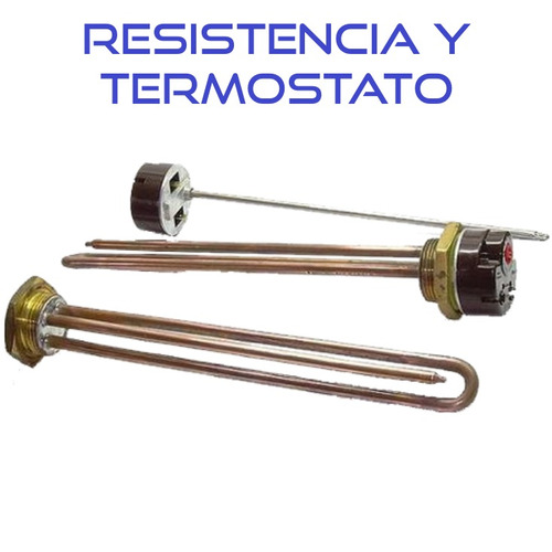 kit eléctrico, termo solar modelo 1 plg / termosolar córdoba