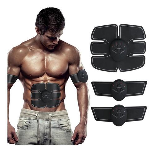 kit electrofisico electroestimulador abdominal +brazos ml099