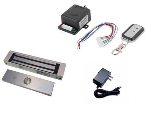 kit electroiman puerta + control remoto + fuente