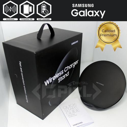 kit elegant cargador inalámbrico samsung wireless charger s9