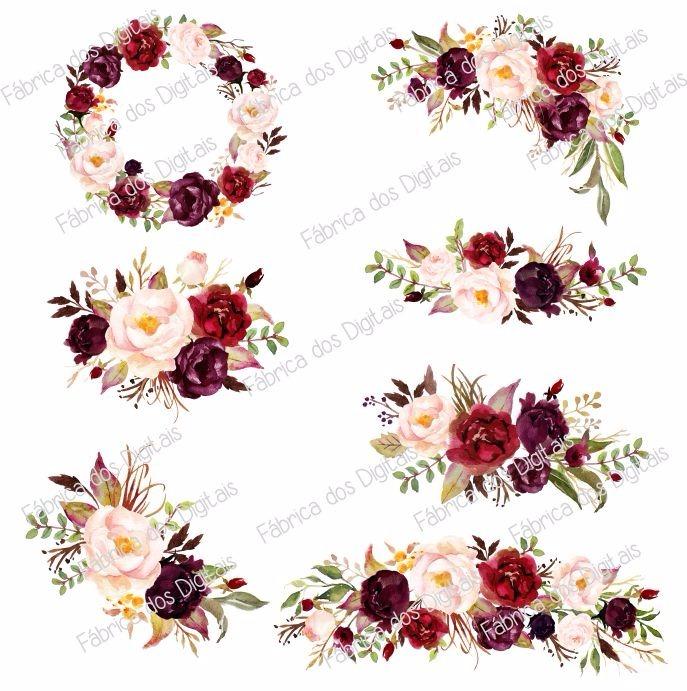 Floral D Ring
