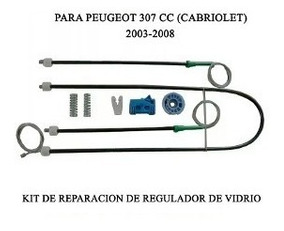 Levantador de regulador de ventana delantero derecho PEUGEOT 307Cc 03-09
