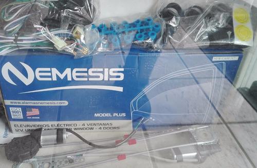 kit elevavidrios electricos nemesis 4 ventanas envio gratis