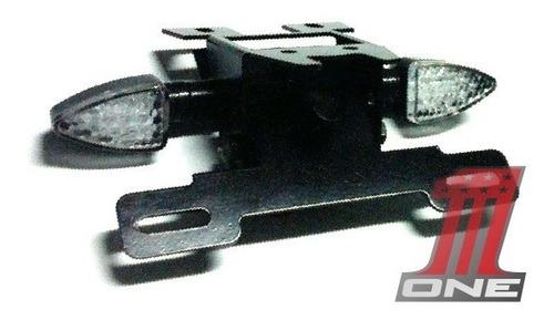 kit eliminador rabeta cbr600f com luz e par piscas em led