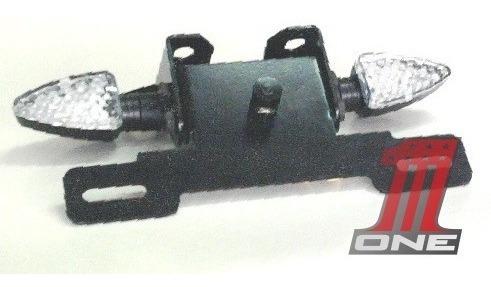 kit eliminador rabeta ninja 300r articulado com seta e luz