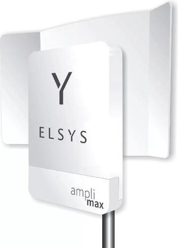 kit elsys amplimax 4g internet rural + tel+ roteador + cabo