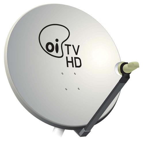 kit elsys oi tv livre receptor etrs 44 lnb duplo antena 60cm
