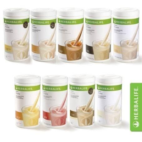 kit emagrecimento herbalife: 2 shakes, chá 50g e fiberbond