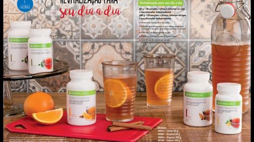 kit emagrecimento herbalife contendo 9 produtos original