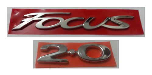 kit emblema new focus 2.0 + brinde focus ford